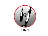 Пылесос вертикальный Nilfisk Handy  2-IN-1 18 V LI-ION (серый)