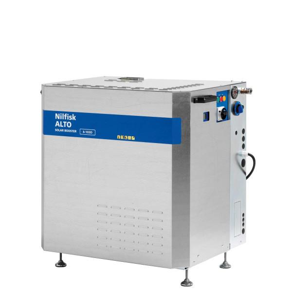 Стационарный АВД с нагревом воды Nilfisk SH SOLAR BOOSTER 8-103D
