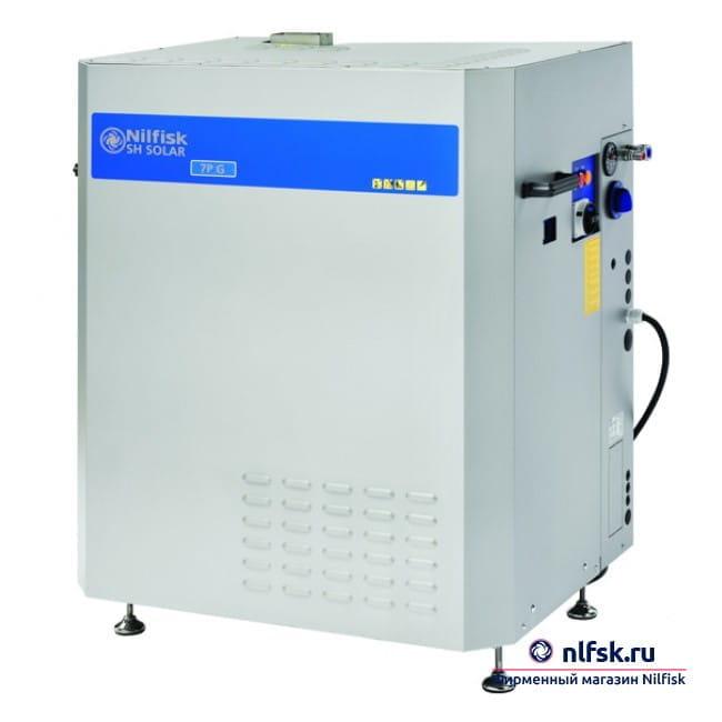 Стационарный АВД с нагревом воды Nilfisk SH SOLAR BOOSTER 5-45G