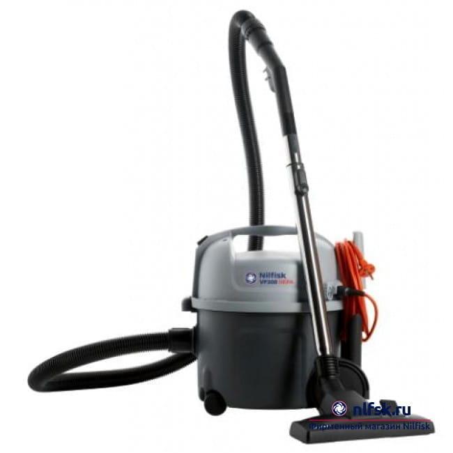Коммерческий пылесос для сухой уборки Nilfisk VP300 HEPA