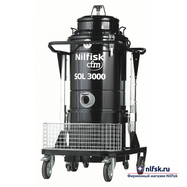 Промышленный пылесос Nilfisk SOL3000 FM