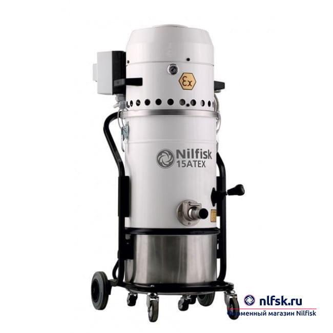 Профессиональный пылесос Nilfisk 15 Atex