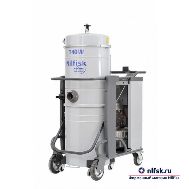 Профессиональный пылеводосос Nilfisk T40W