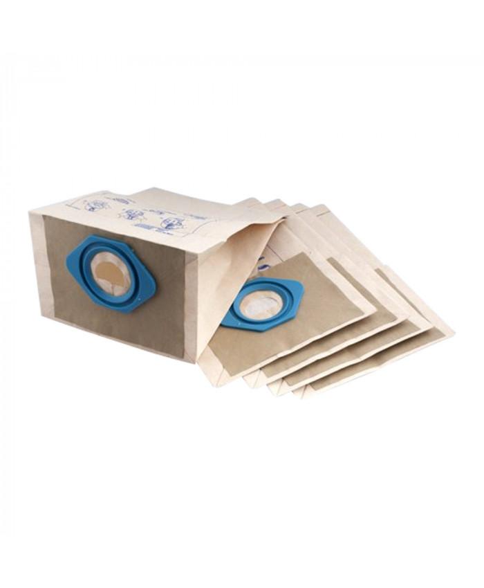 Пылесборники одноразовые бумажные Nilfisk 6,5 л для GM 80P 5 шт в упаковке